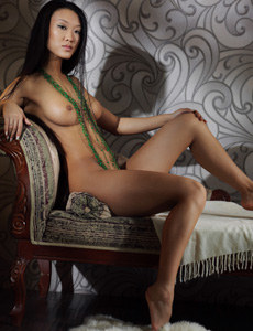 Young asian lady